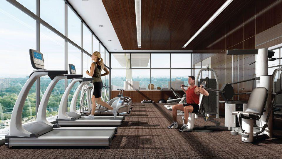 3018 Yonge Condos Gym Toronto, Canada