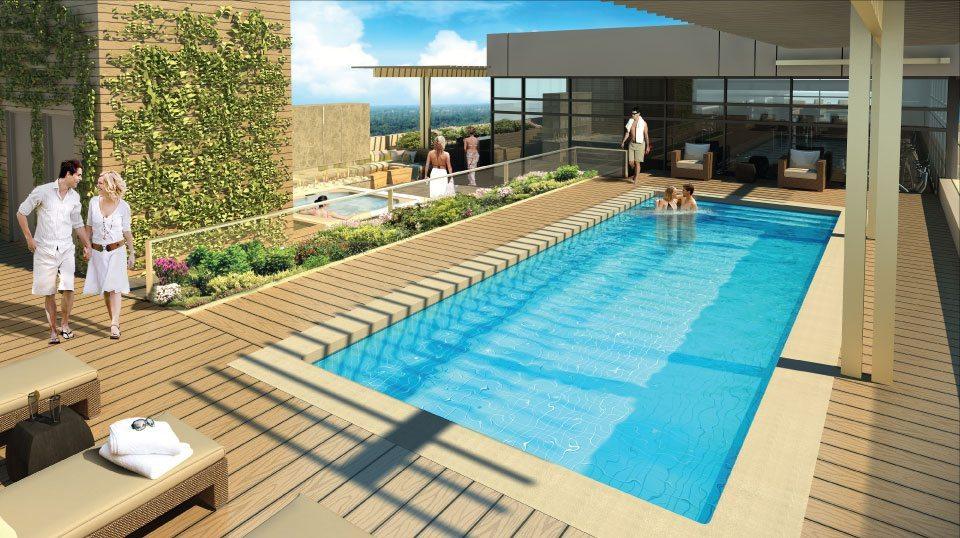 3018 Yonge Condos Swimming Pool Toronto, Canada