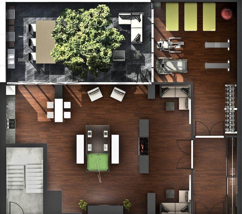 32 Camden Condos Plan View Toronto, Canada