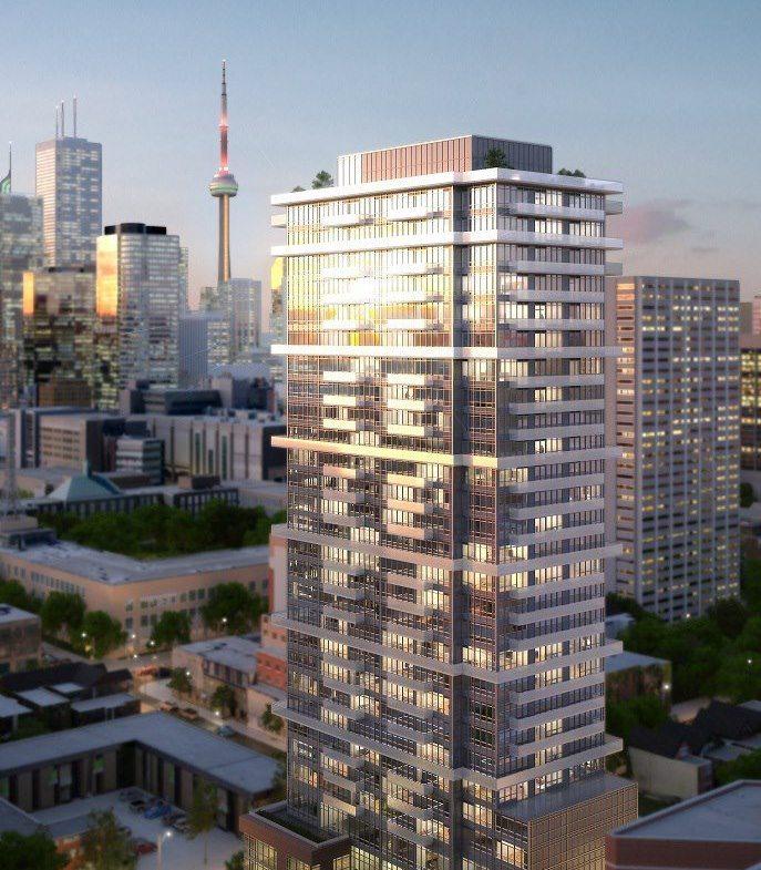 365 Church Condos Building View Toronto, Canada