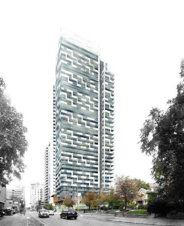 50 at Wellesley Station Condos Building View Toronto, Canada