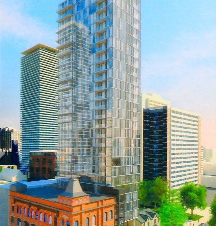 8 Gloucester Condos Building View Toronto, Canada