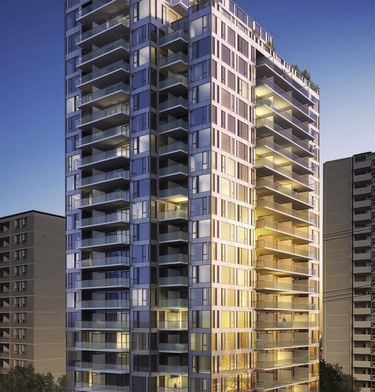 83 Redpath Condos Building View Toronto, Canada