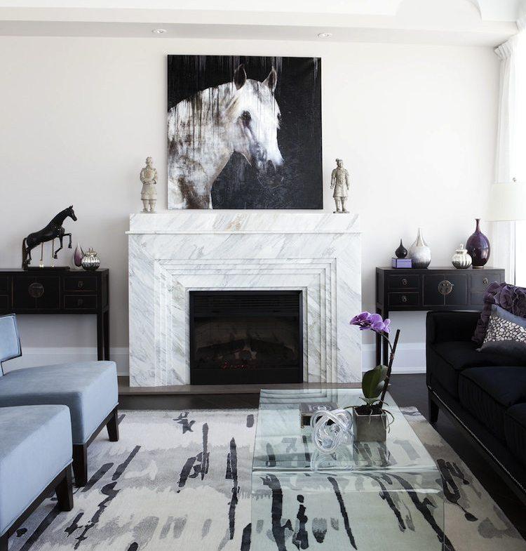 Churchill Park Condos Living Room Toronto, Canada
