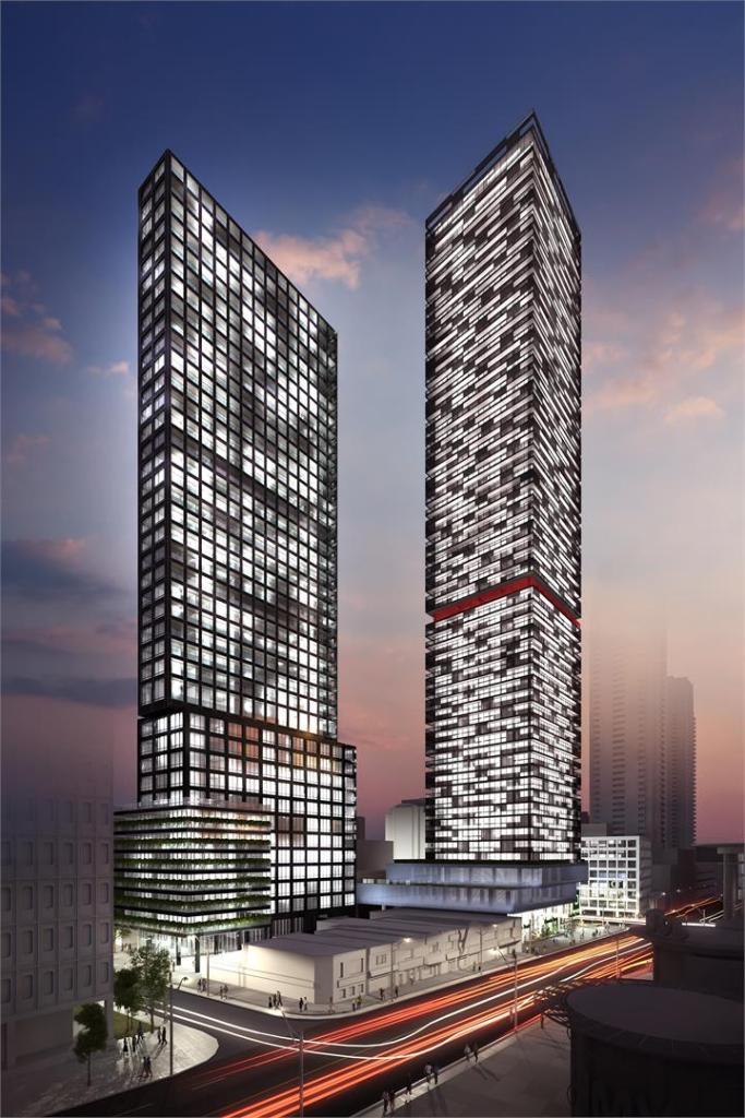e2 Condos Building View Toronto, Canada