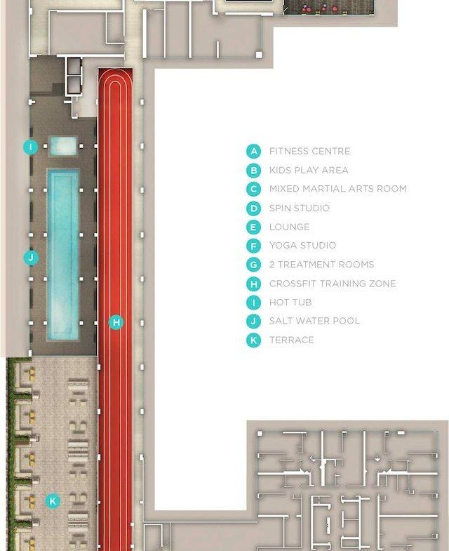 Eau du Soleil Condos Property Plan Toronto, Canada