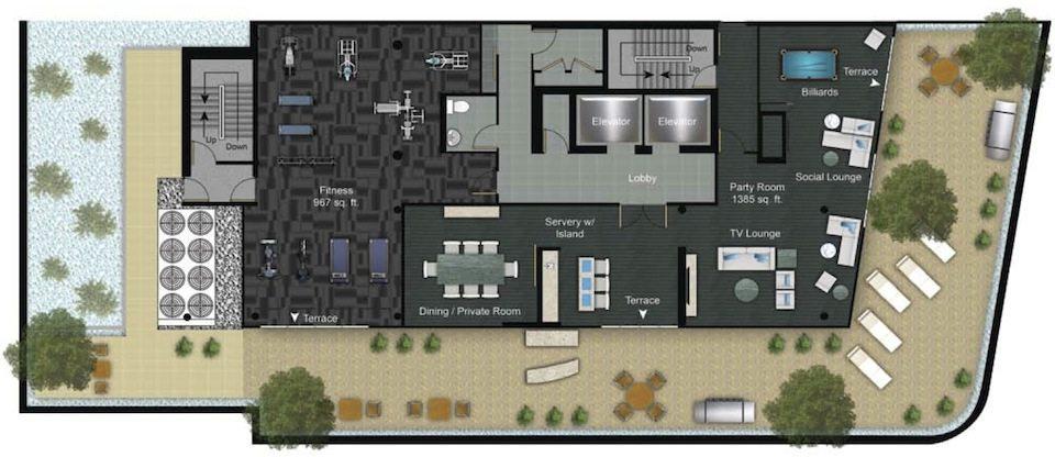 Eleven Superior Property Plan Toronto, Canada