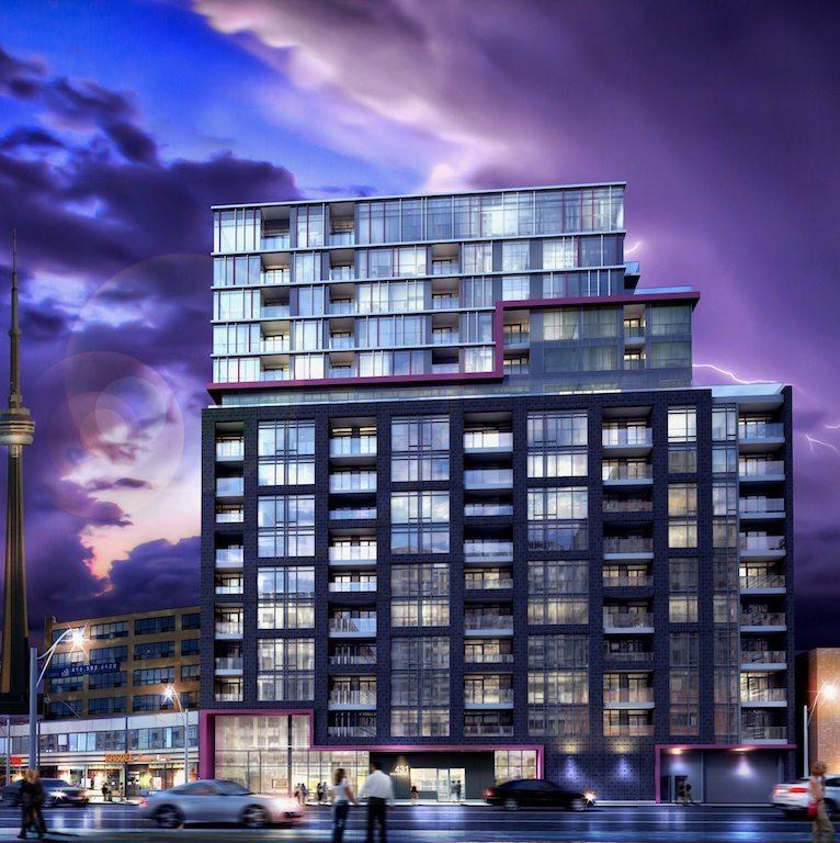 Fabrik Condos Street View Toronto, Canada