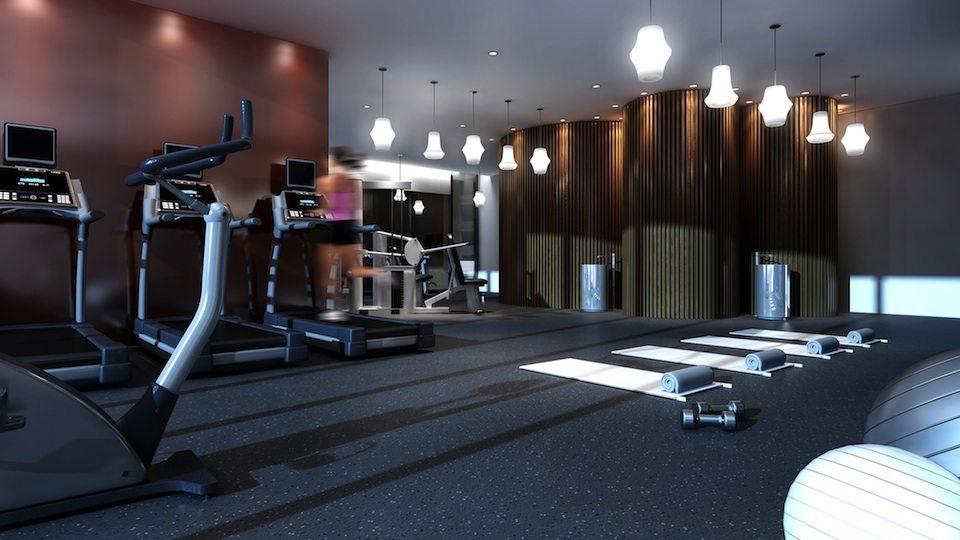 Fabrik Condos Gym Toronto, Canada