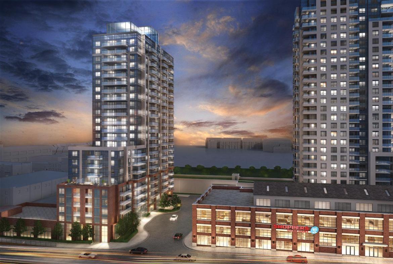 Fuse & Fuse2 Condos Building View Toronto, Canada