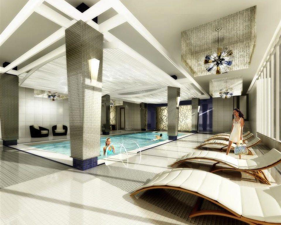 Gibson Square Condominiums Swimming Pool Toronto, Canada