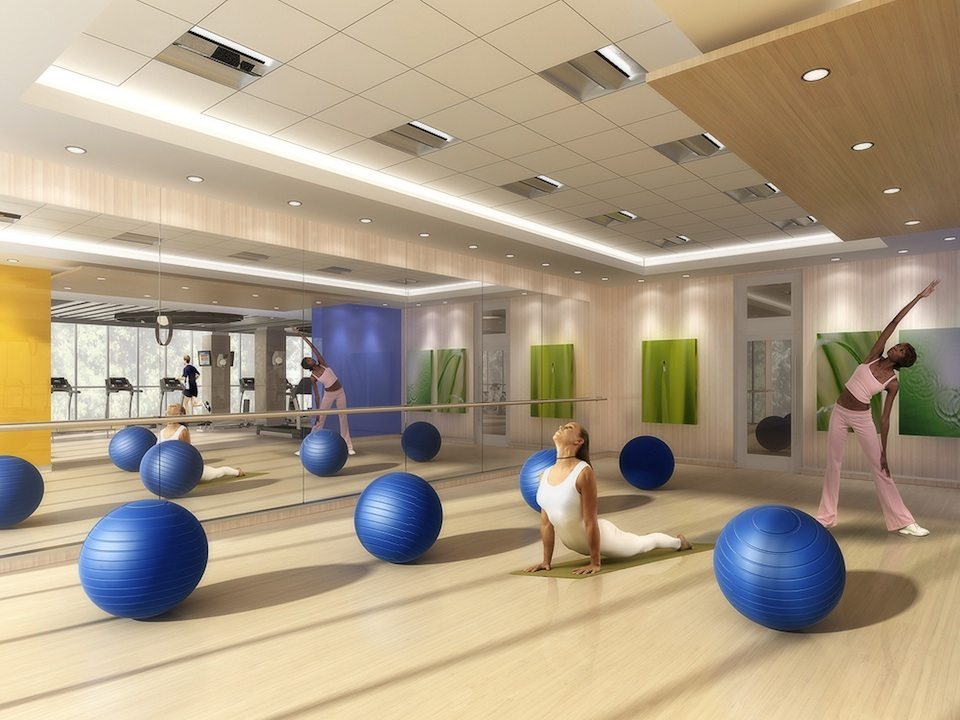 Gibson Square Condominiums Yoga Center Toronto, Canada