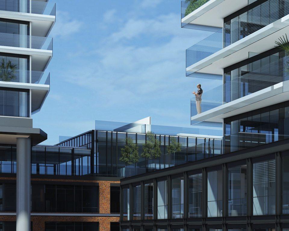 Gooderham Condos Balcony Toronto, Canada