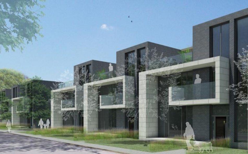 Gordon Woods Condominiums Front View Toronto, Canada