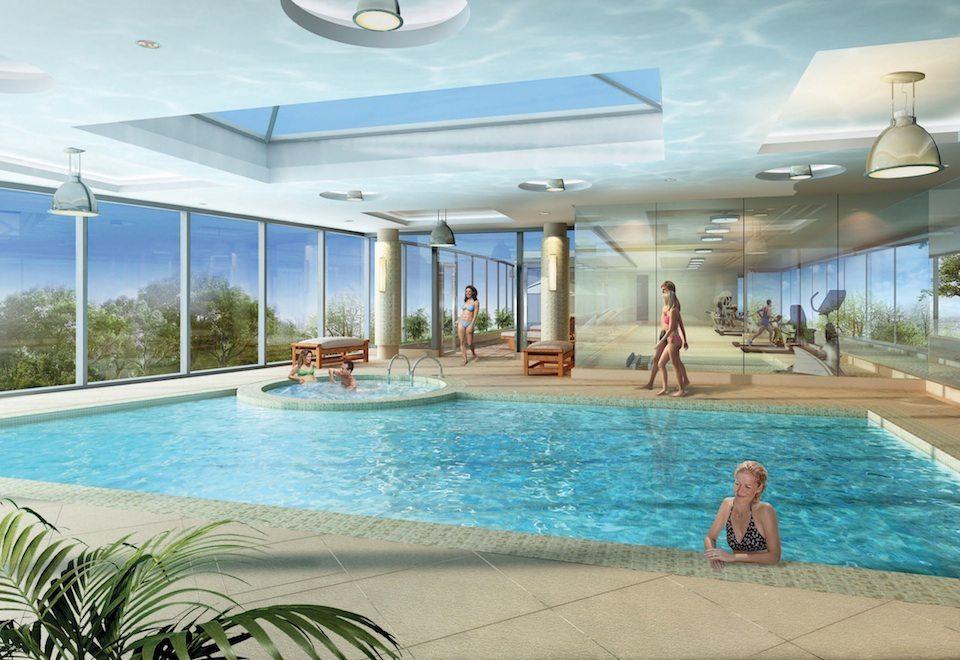 Gramercy Park Condos Swimming Pool Toronto, Canada