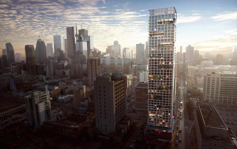 Grid Condos Building View Toronto, Canada