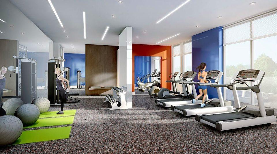 IQ Condos Phase 1 Condos Gym Toronto, Canada