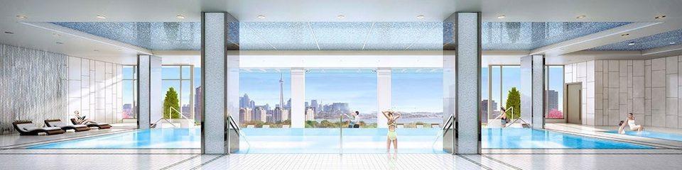 IQ Condos Phase 1 Condos Swimming Pool Toronto, Canada