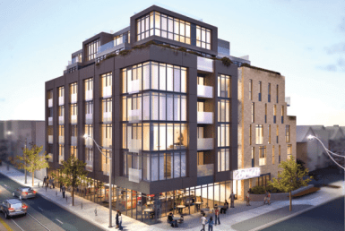 IT Lofts Condos Building View Toronto, Canada