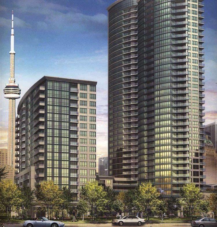 Infinity Condos Street View Toronto, Canada