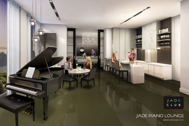 Jade Condominiums Piano Lounge Toronto, Canada