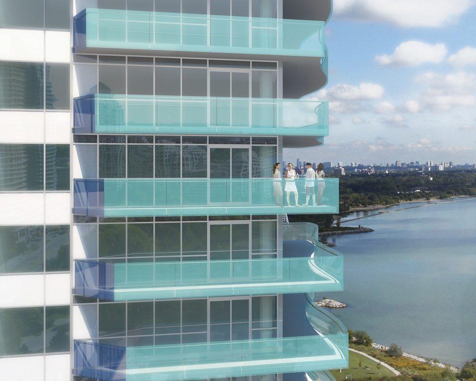 Jade Waterfront Balcony Toronto, Canada