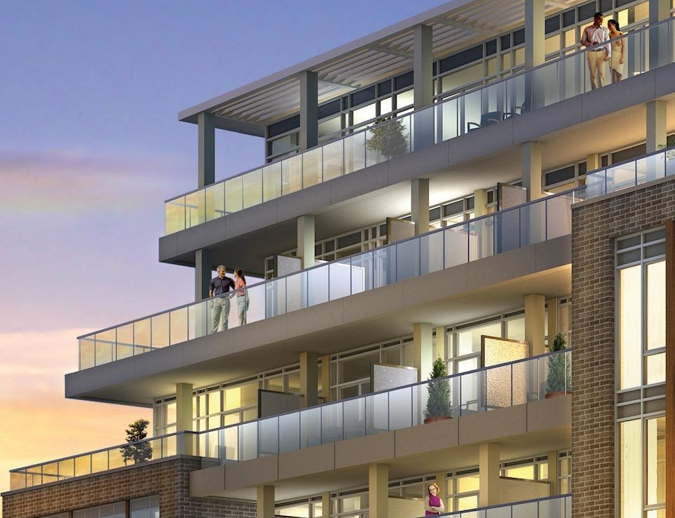 Lakehouse Beach Residences Balcony View Toronto, Canada