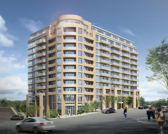 Leslie Boutique Residences Building View Toronto, Canada