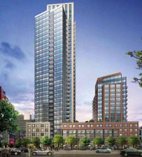 London On The Esplanade Condos Building View Toronto, Canada