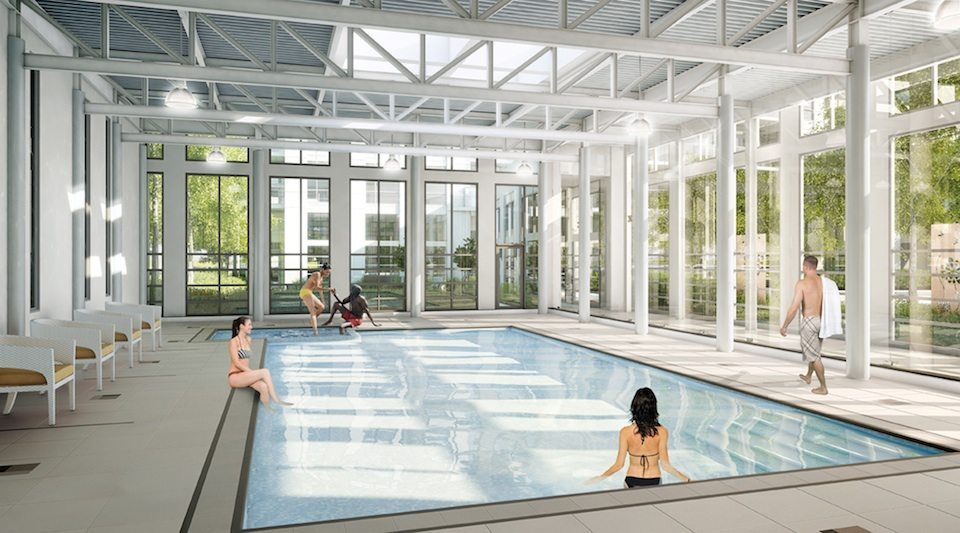 Love Condos Swimming Pool Toronto, Canada