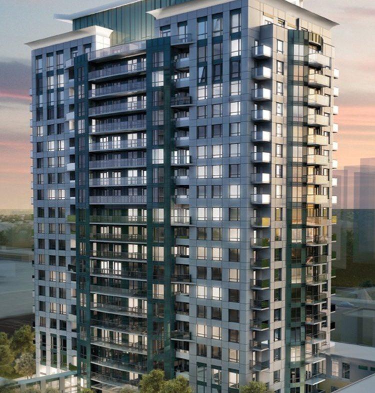 Love Condos Building View Toronto, Canada