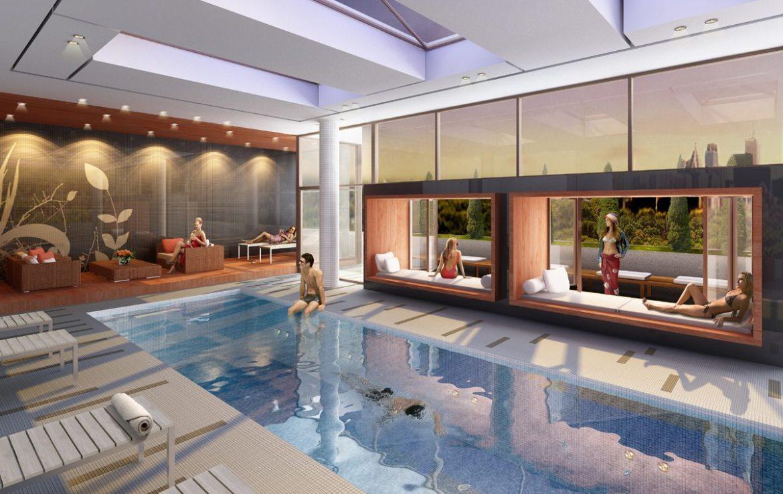 Lumiere Condominiums Swimming Pool Toronto, Canada