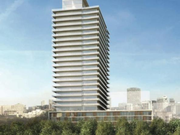 MYC Merton Yonge Condominiums Building View Toronto, Canada