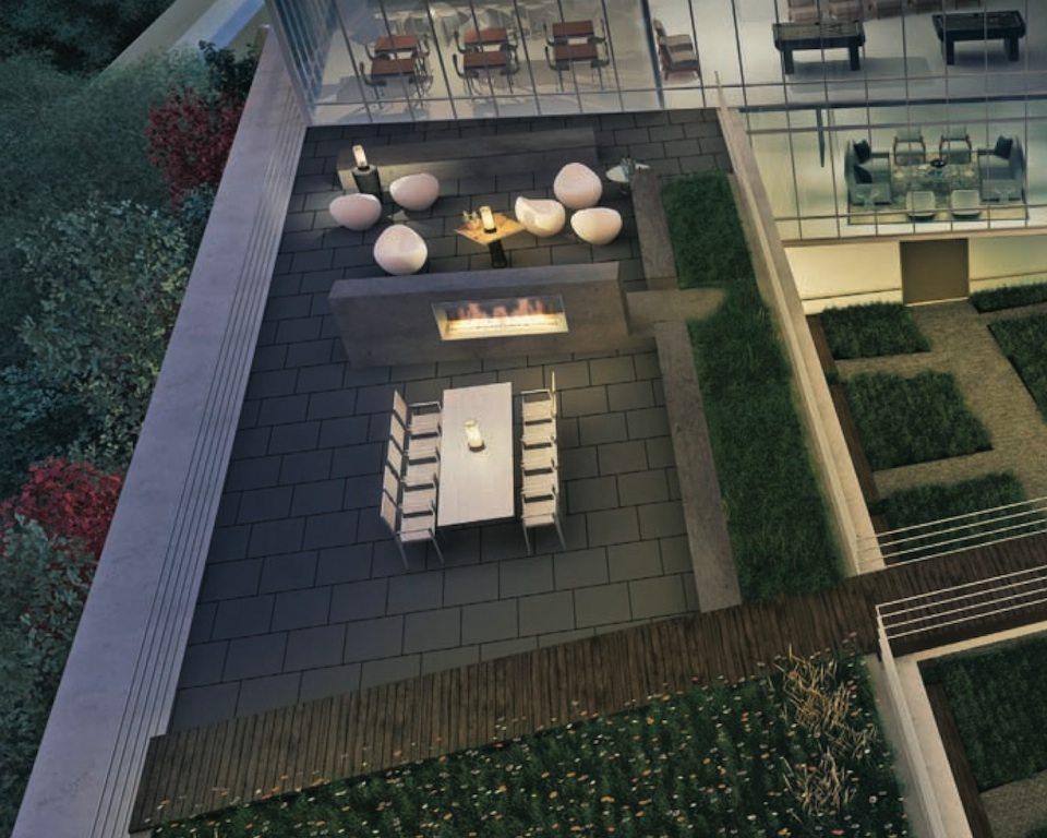 MYC Merton Yonge Condominiums Terrace Party Toronto, Canada
