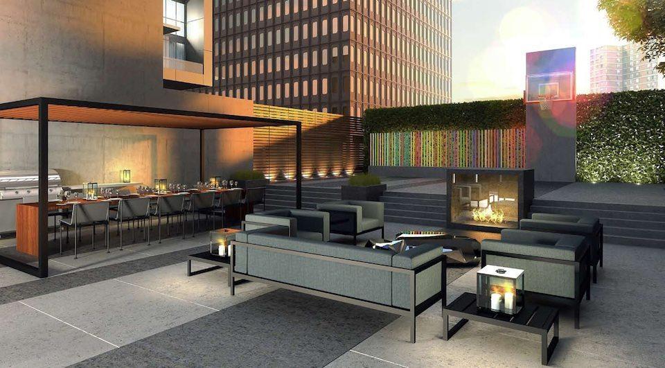 Minto 30Roe Condos Party Lounge Toronto, Canada
