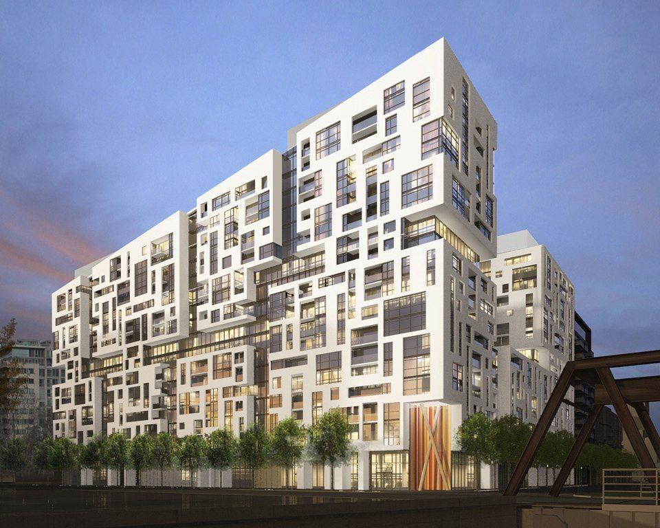 Minto Westside Condos Building View Toronto, Canada