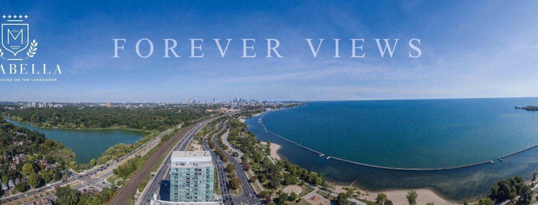 Mirabella Condos Aerial View Toronto, Canada