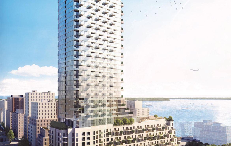 Monde Condos Building View Toronto, Canada
