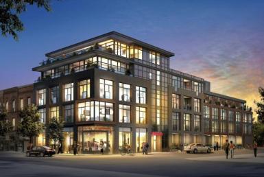 Motif Lofts + Townhomes Building View Toronto, Canada
