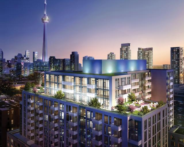 Musée Condos Terrace View Toronto, Canada