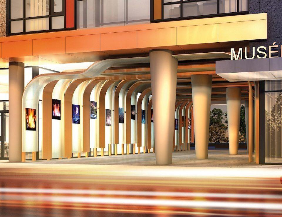Musée Condos Entrance View Toronto, Canada