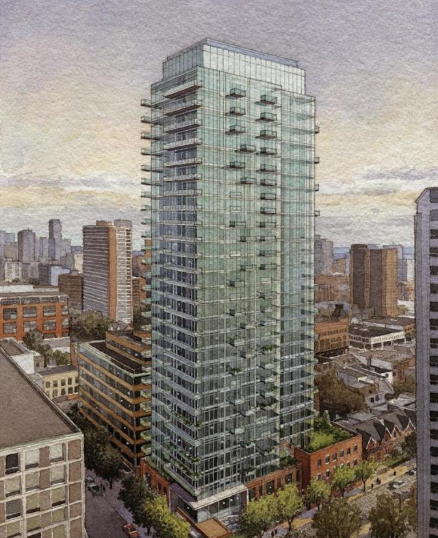 Nicholas Residences Condos Building View Toronto, Canada