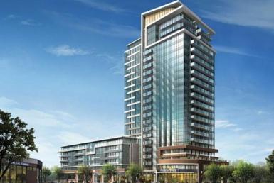 North Shore Condos Building View Toronto, Canada
