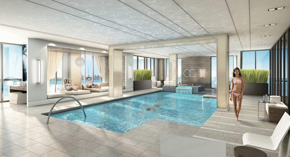 Ocean Club Condos Swimming Pool Toronto, Canada