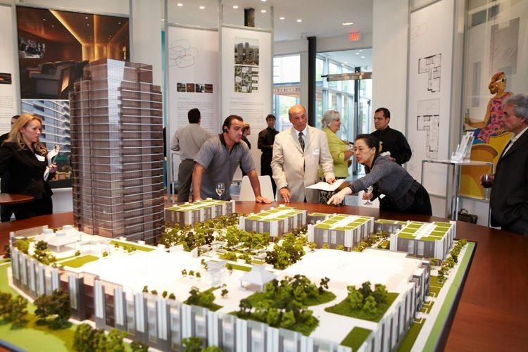 One Valhalla Towns & Condos + Triumph Phase Three Model Toronto, Canada