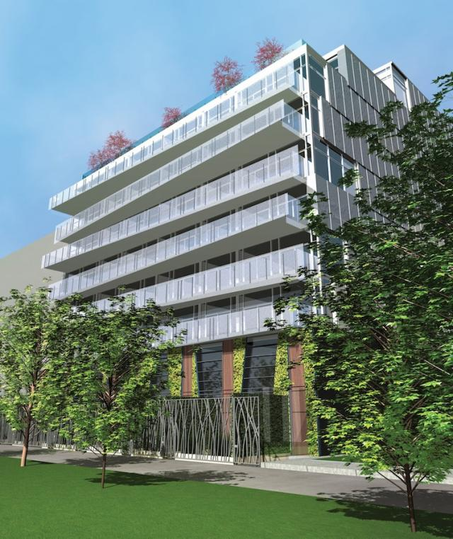 Parc - Loft Residences on King West Garden View Toronto, Canada