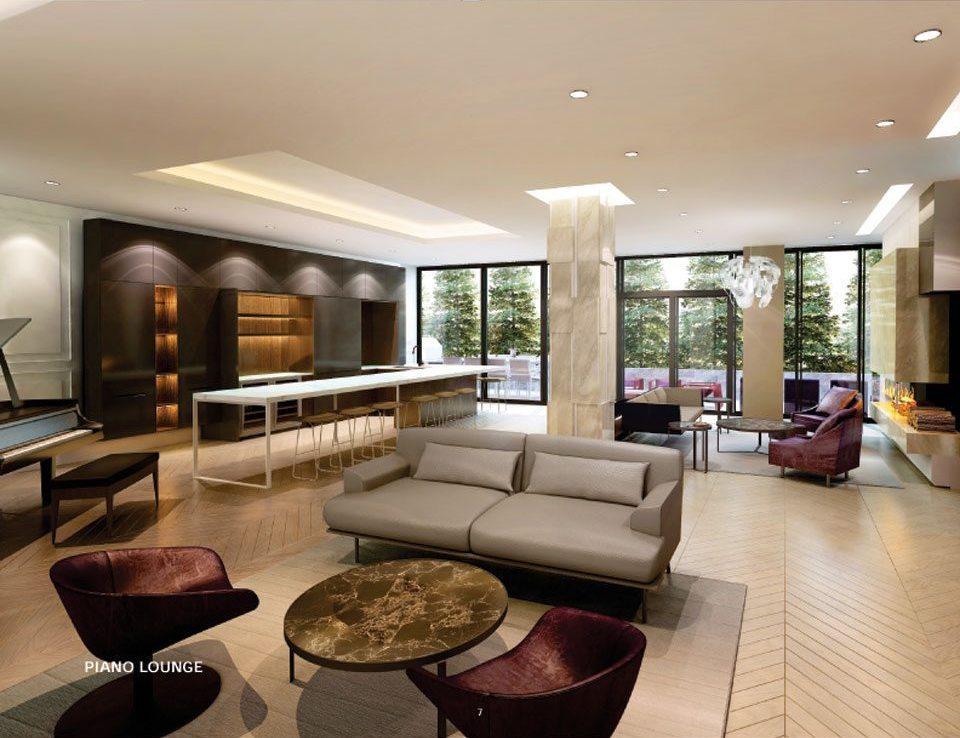 Perry Condos Piano Lounge Toronto, Canada