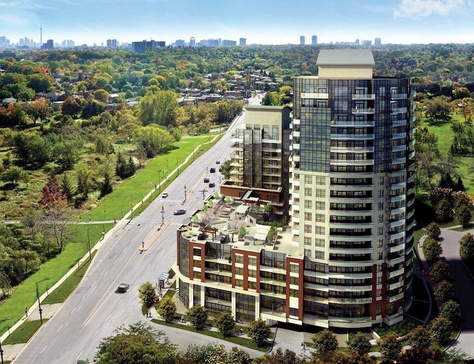 Perspective Condominiums Building View Toronto, Canada