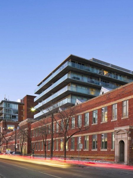 Printing Factory Lofts Street View Toronto, Canada