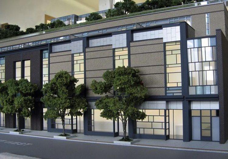 Queen & Portland Loft & Condominium Residences Front View Toronto, Canada
